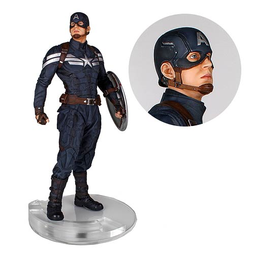 Captain America The Winter Soldier Captain America Stealth 1:4 Scale Statue