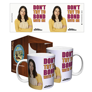 Parks and Recreation Don't Bond With Me 11 oz. Mug