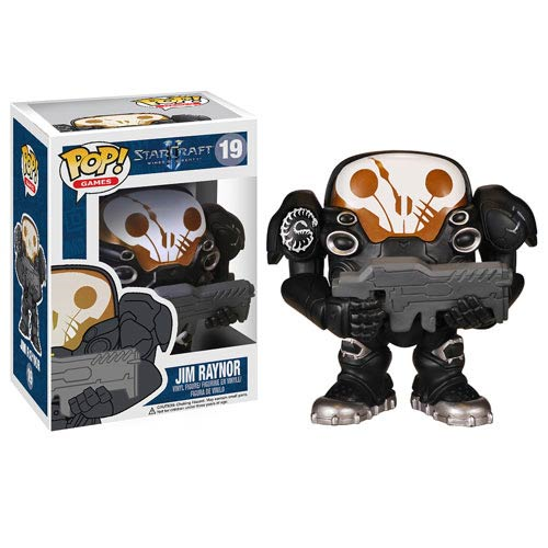 StarCraft II Jim Raynor Marine Suit Pop! Vinyl Figure