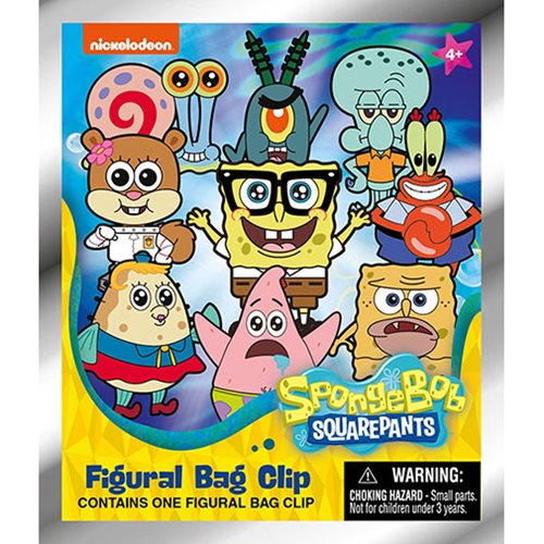 Nickelodeon Series 3 Figural Key Chain Random 6-Pack