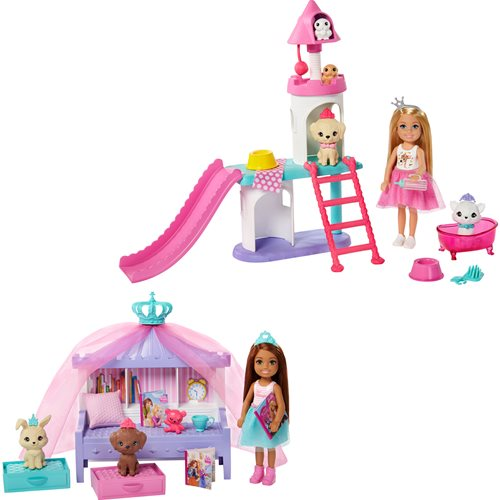 Barbie Princess Adventure Doll and Playset Case