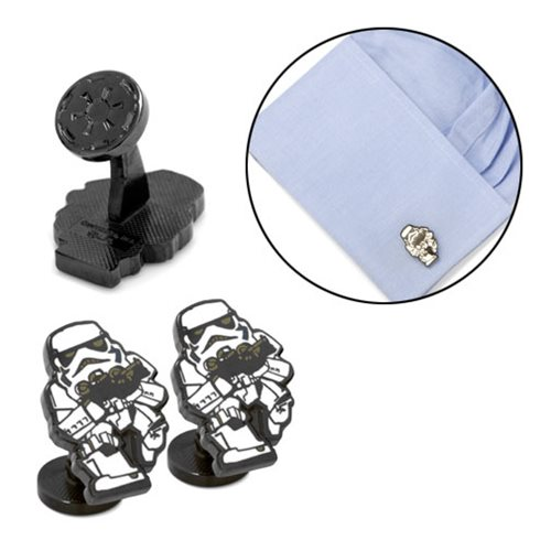 Star Wars Stormtrooper Action Cufflinks