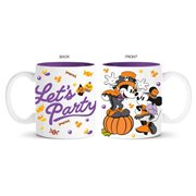 Mickey and Minnie Halloween Let's Party 14 oz. Ceramic Mug