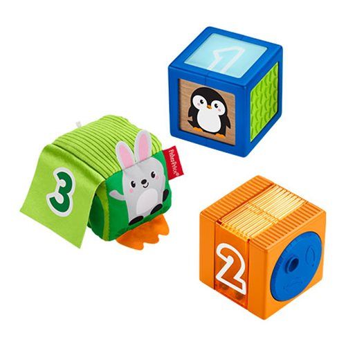 Fisher-Price Stack & Discovery Sensory Blocks
