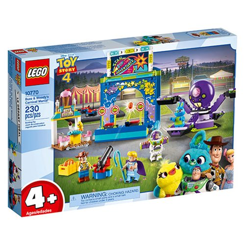 LEGO 10770 Toy Story 4 Buzz & Woody's Carnival Mania!