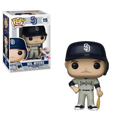 MLB San Diego Padres Wil Myers New Jersey Pop! Vinyl Figure