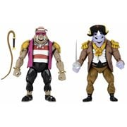 Teenage Mutant Ninja Turtles: Turtles in Time Pirate Rocksteady and Bebop 7-Inch Scale Action Figure 2-Pack