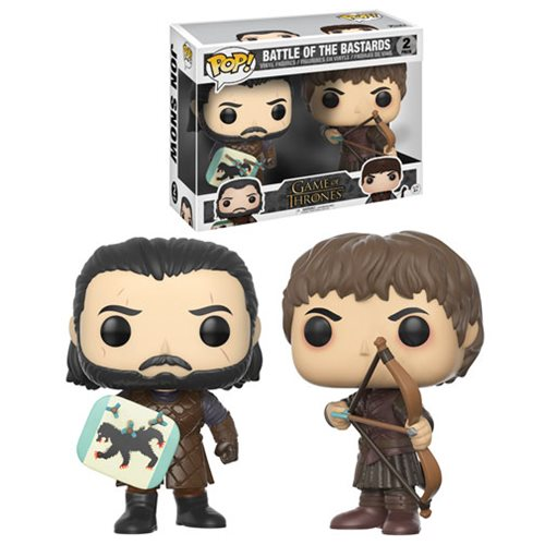 Game of Thrones Battle of the Bastards Pop! Vinyl Figure 2-Pack