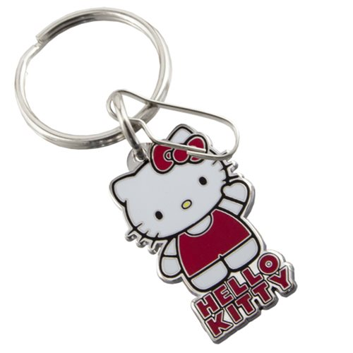 Hello Kitty Core Standing Enamel Key Chain