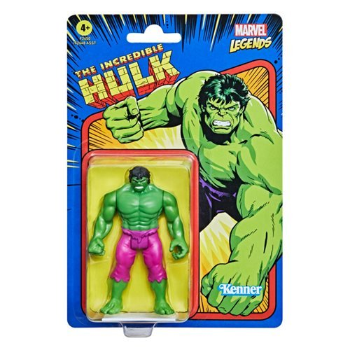 Marvel Legends Retro 375 Collection The Incredible Hulk 3 3/4-Inch Action Figure