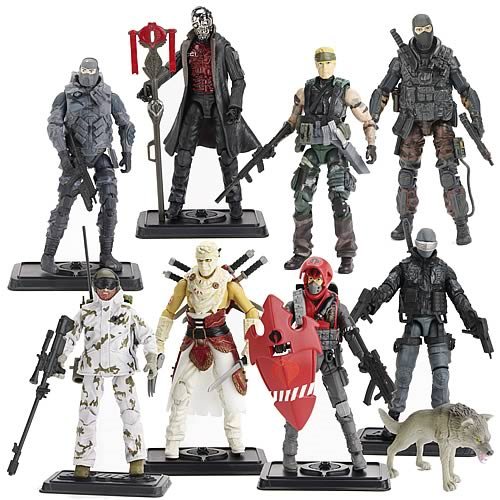 G.I. Joe Pursuit of Cobra Action Figures Wave 1