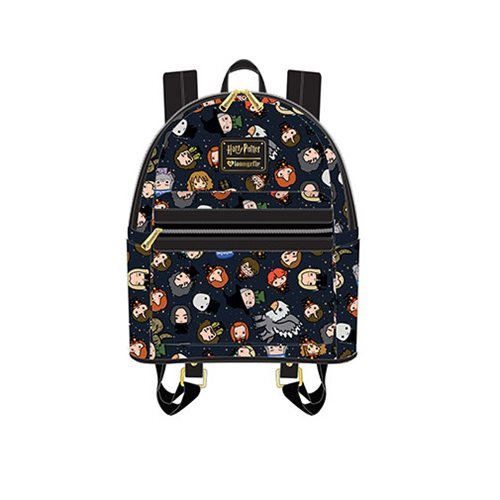 Harry Potter Chibi Character Print Mini Backpack