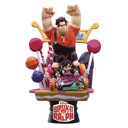 Wreck-It Ralph D-Select Series DS-008 6-Inch Statue - Previews Exclusive