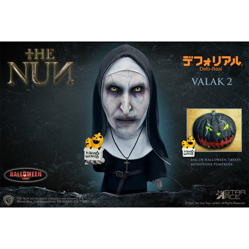 The Nun Valak Halloween Version 1 Defo Real Soft Vinyl Action Figure