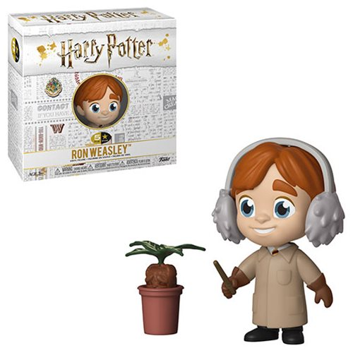 Harry Potter Ron Weasley Herbology 5 Star Vinyl Figure