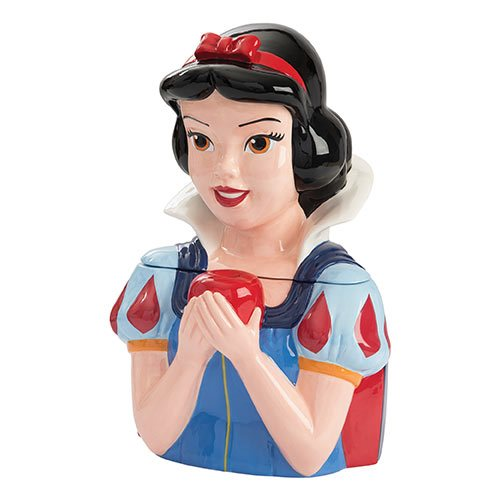 Snow White Sculpted Ceramic Cookie Jar