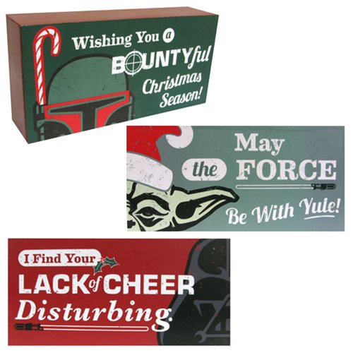 Star Wars Wooden Block Set