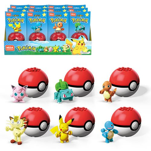 Pokemon Mega Construx 1st Generation Poke Ball Case