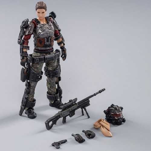 Joy Toy Skeleton Forces Double Sickle Squad Helan 1:18 Scale Action Figure
