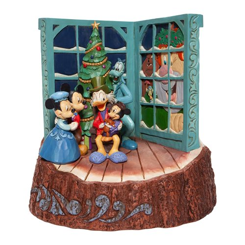 Disney Traditions Mickey's Christmas Carol Statue by Jim Shore