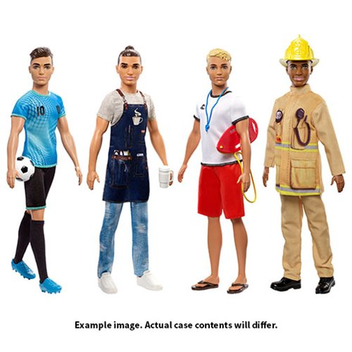 Barbie Ken Career Doll Case