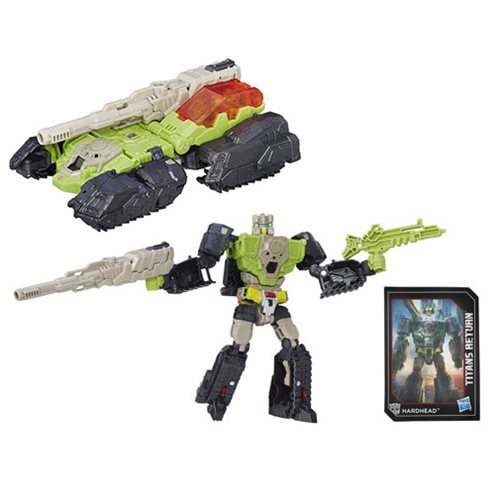 Transformers Generations Titans Return Deluxe Class Hardhead, Not Mint