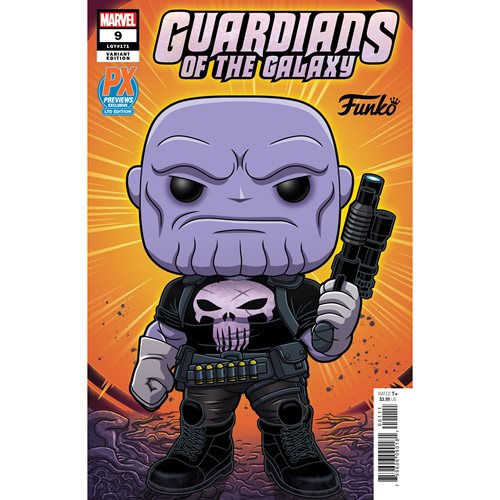 Marvel Heroes Earth-18138 6-Inch Pop! Vinyl Figure and Guardians of the Galaxy #9 Variant Comic - Previews Exclusive