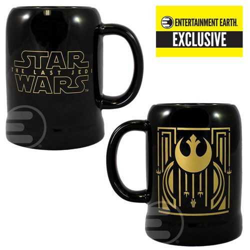 Star Wars: The Last Jedi Rebel Symbol 20 oz. Ceramic Stein - Entertainment Earth Exclusive