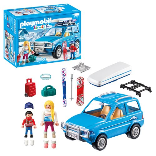 Playmobil 9281 Winter SUV