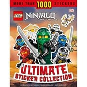 LEGO Ninjago Ultimate Sticker Collection Paperback Book