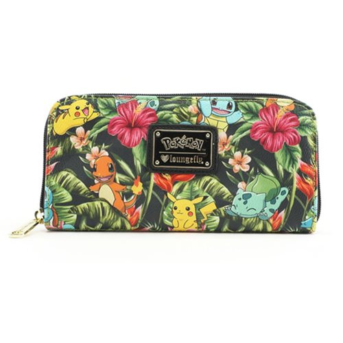 Pokemon Tropical Starter Print Wallet
