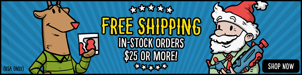 Free Shipping 2019 Orders of $25 or More