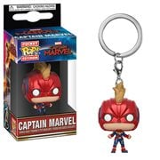 Captain Marvel Masked Pocket Pop! Key Chain