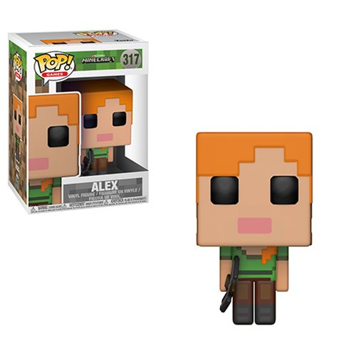 Minecraft Alex Pop! Vinyl Figure #317