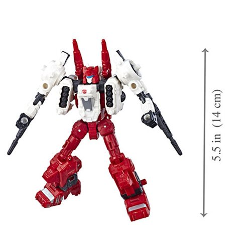 Transformers Generations War for Cybertron Siege Deluxe Sixgun