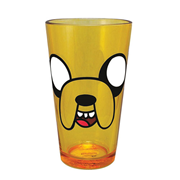 Adventure Time Jake Face Pint Glass