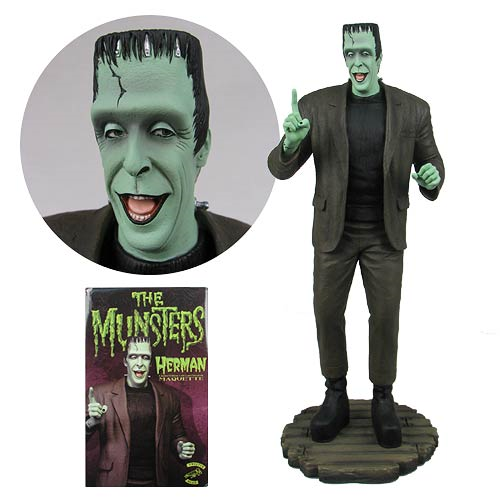 Munsters Herman Munster Maquette Statue, Not Mint
