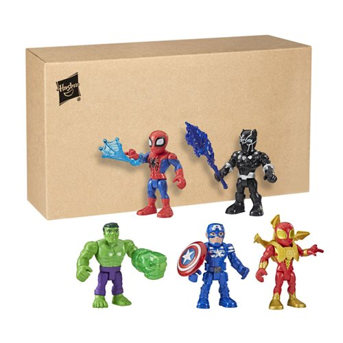 Marvel Super Hero Adventures 5-Inch Action Figure 5-Pack