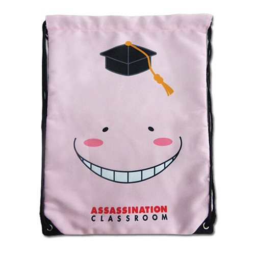 Assassination Classroom Relaxed Korosensei Drawstring Bag