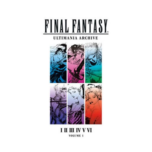 Final Fantasy Ultimania Archive Volume 1 Art Book