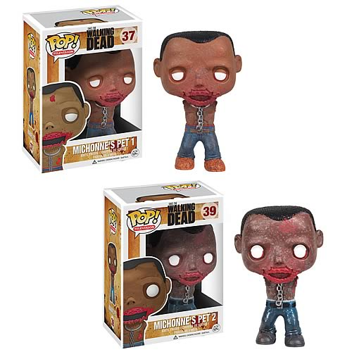 The Walking Dead Michonne's Pet Walkers Pop! Vinyl Figures Set