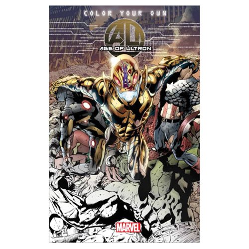 Avengers Age Of Ultron Coloring Book