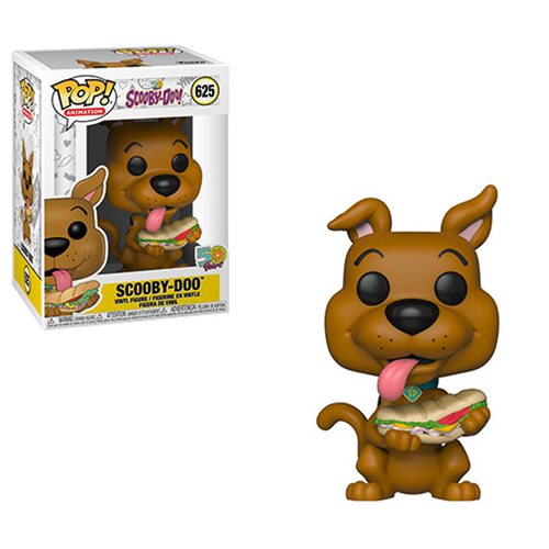 Scooby Doo with Sandwich Pop! Vinyl Figure