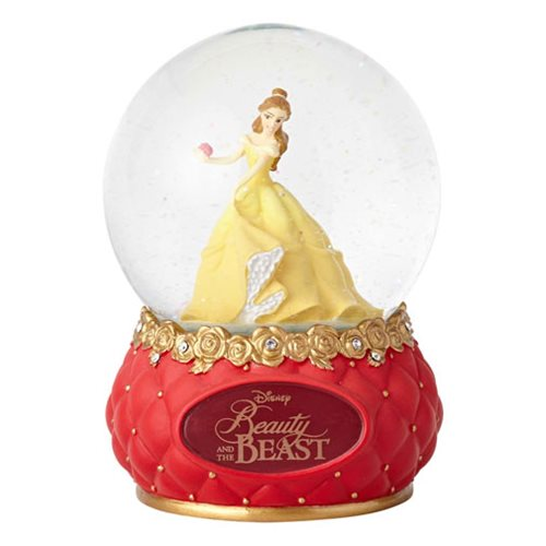 Disney Showcase Beauty and the Beast 5 1/2-Inch Water Globe
