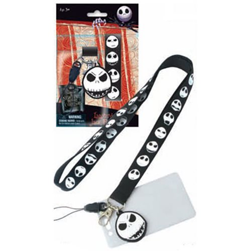 Nightmare Before Christmas Jack Skellington Lanyard