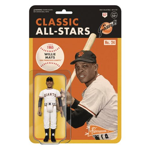 Major League Baseball Classic Willie Mays (San Francisco Giants) ReAction Figure