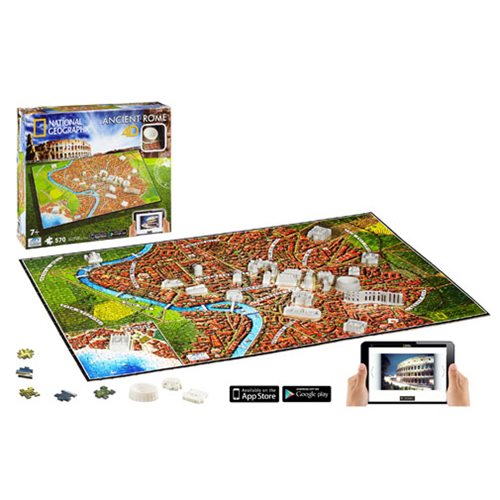 National Geographic Ancient Rome 4D Puzzle