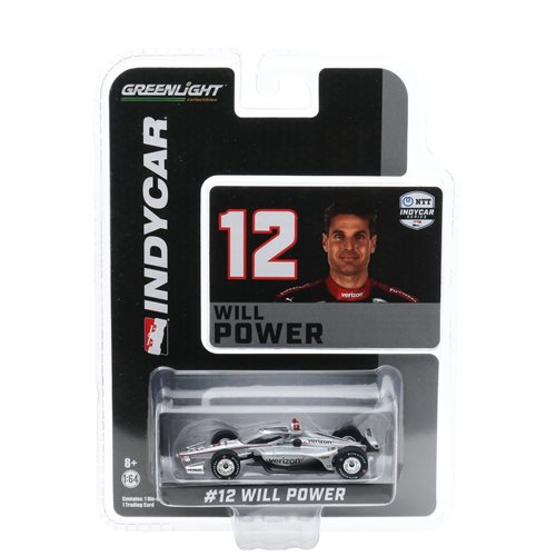 2020 NTT IndyCar Series #12 Will Power Team Penske Verizon 1:64 Scale Die-Cast Vehicle with Trading Card