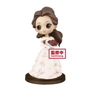 Disney Story of Belle White Version Petit Q Posket Statue