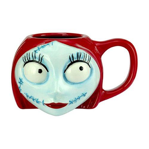 Nightmare Before Christmas Sally Head Mug